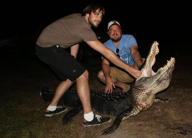 Ryan and Matt second gator